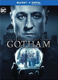 Gotham season 3 DVD cover