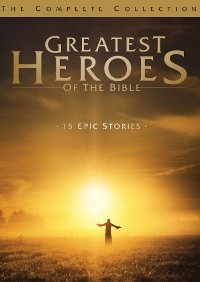 Greatest Heroes of the Bible: Complete Collection DVD cover