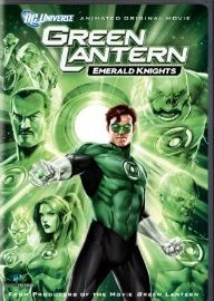 Green Lantern: Emerald Knights DVD cover