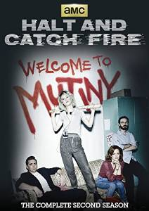 Halt And Catch Fire The Complete Second Season DVD cover