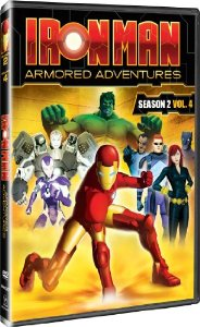 Iron Man Armored Adventures Season 2 Volume 4