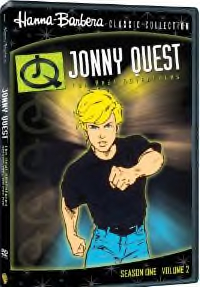 Jonny Quest DVD cover