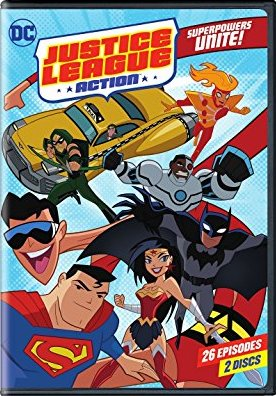 Justice League Action Season 1 DVD cover