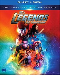 DC's Legends of Tomorrow: The Complete Second Season DVD cover