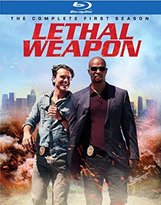 Lethal Weapon: The Complete First Season Blu-ray cover