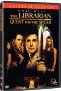 The Librarian - Quest for the Spear DVD cover photo