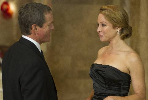 Linden Ashby and Jamie Luner