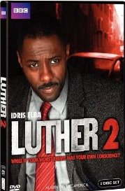 Luther: Season 2 DVD cover