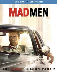 Mad Men: The Final Season, Part 2 [Blu-ray + Digital HD] DVD cover