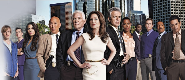 "The humongous cast of ""Major Crimes"""