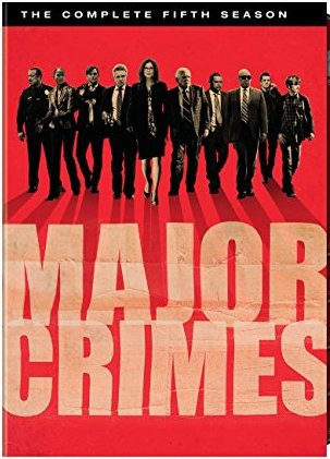 Major Crimes: The Complete Fifth Season DVD cover