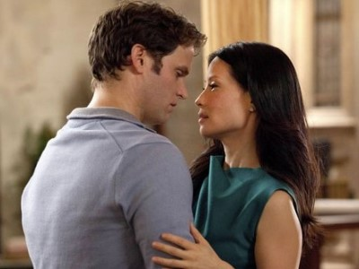 Steven Pasquale and Lucy Liu