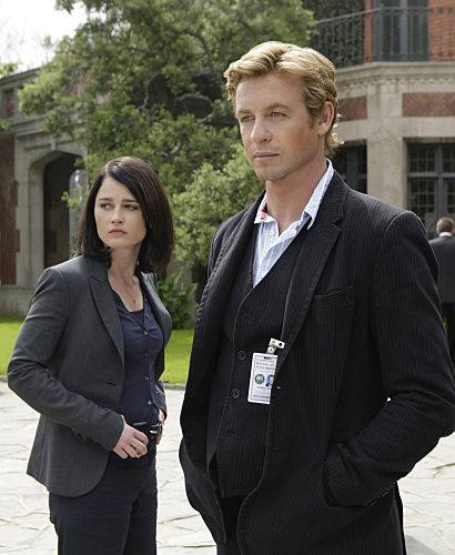 "The cast of ""The Mentalist"""