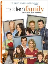 Modern Family: The Complete First Season DVD cover