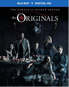 The Originals: The Complete Second Season Blu-ray cover