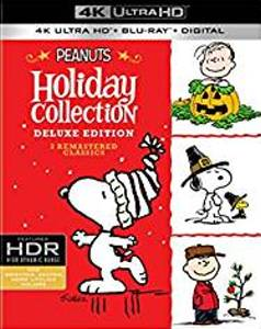 Peanuts Holiday Collection 4K Ultra HD Blu-ray DVD cover