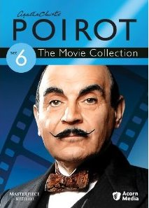 Poirot Movie Collection Set 6 DVD cover