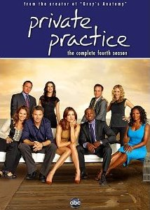 Private Practice: The Complete Fourth Season DVD cover