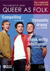 Queer As Folk: The Complete U.K. Collection DVD cover