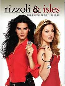 Rizzoli & Isles: The Complete Fifth Season DVD cover