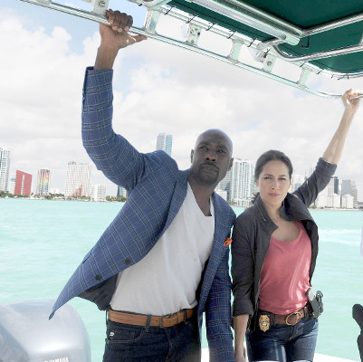 Rosewood's Morris Chestnut and Jaina Lee Ortiz