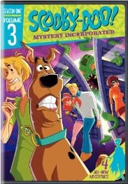 Scooby Doo Mystery Incorporated: Season 1 V.3 DVD cover