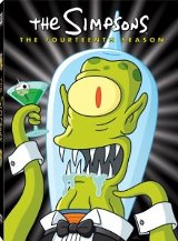 The Simpsons: The Fourteenth Season DVD cover