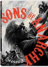 Sons of Anarchy: Season Three DVD cover