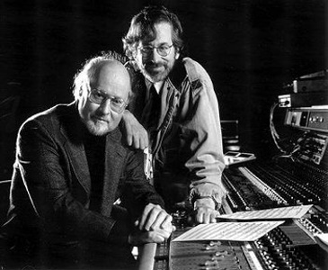 Stephen Spielberg and John Williams