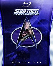STAR TREK: THE NEXT GENERATION - THE SIXTH SEASON Blu-Ray cover