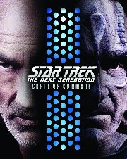 STAR TREK: THE NEXT GENERATION - CHAIN OF COMMAND Blu-Ray cover