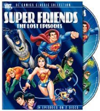 Super Friends: The Lost Episodes DVD cover