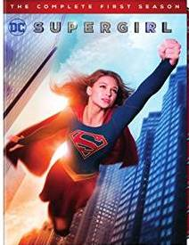 Supergirl: The Complete First Season DVD cover