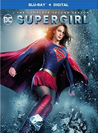 Supergirl 2nd season DVD cover