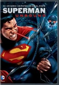 Superman: Unbound DVD cover