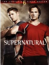 Supernatural: The Complete Sixth Season DVD cover