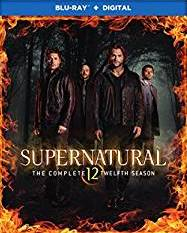 Supernatural: The Complete Twelfth Season DVD cover