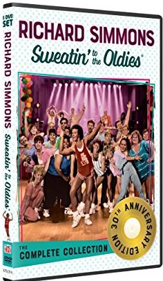 Richard Simmons: Sweatin' to the Oldies The Complete Collection 30th Anniversary DVD cover
