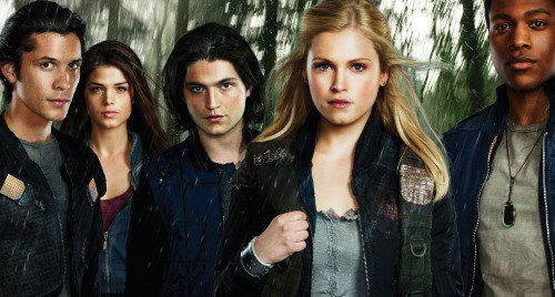 "Some of the teens of ""The 100"""