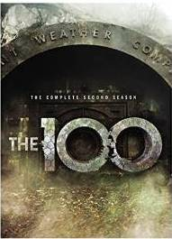 The 100 The Complete Second Season DVD cover