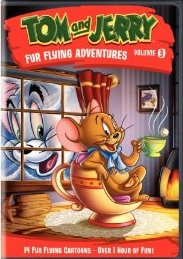 Tom & Jerry: Fur Flying Adventures 3 DVD cover