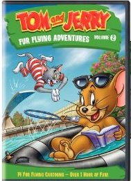 Tom & Jerry: Fur Flying Adventures 2 DVD cover