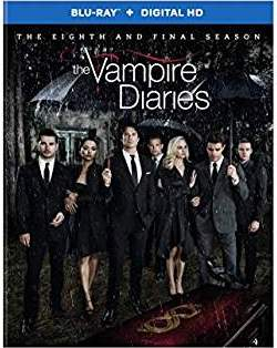 The Vampire Diaries: The Complete Eighth and Final Season DVD cover