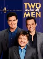 Two and a Half Men Complete Fourth Season DVD cover