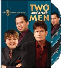 "Two and a Half Men: The Complete Sixth Season"" DVD cover"