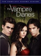 The Vampire Diaries: The Complete Second Season DVD cover