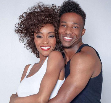 Yaya DaCosta and Arlen Escarpeta