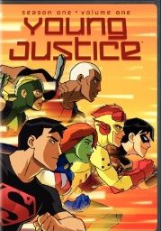 Young Justice: Season One V.1 DVD cover
