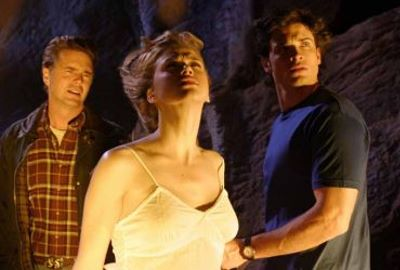 "Jonathan, Kara and Clark in ""Covenant"""
