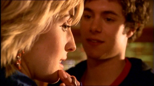 "Justin and Chloe in ""Crush"""